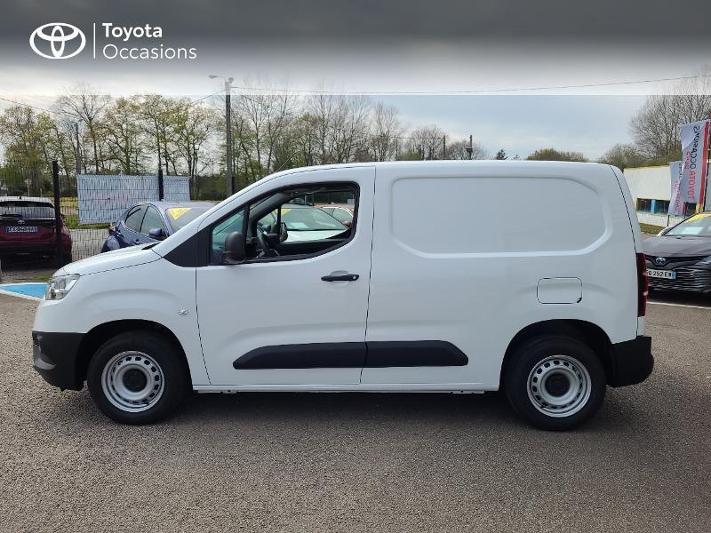 Photo 3 de l'offre de TOYOTA PROACE CITY Medium 100 D-4D Dynamic RC21 à 16480€ chez Cap Ouest Auto - Toyota Morlaix