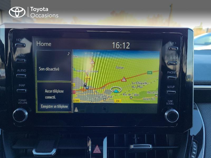 Photo 15 de l'offre de TOYOTA Corolla 122h Design MY20 à 22980€ chez Cap Ouest Auto - Toyota Morlaix