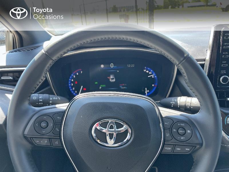 Photo 13 de l'offre de TOYOTA Corolla 122h Dynamic MY20 à 23580€ chez Cap Ouest Auto - Toyota Morlaix