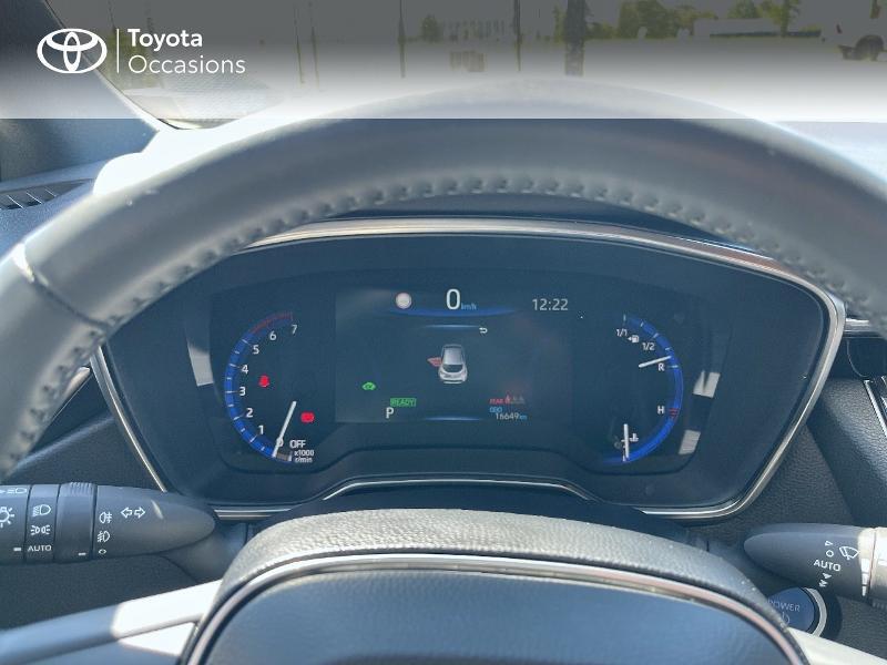 Photo 14 de l'offre de TOYOTA Corolla 122h Dynamic MY20 à 23580€ chez Cap Ouest Auto - Toyota Morlaix