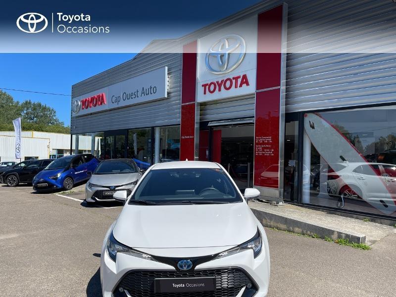 Photo 5 de l'offre de TOYOTA Corolla 122h Dynamic MY20 à 23580€ chez Cap Ouest Auto - Toyota Morlaix
