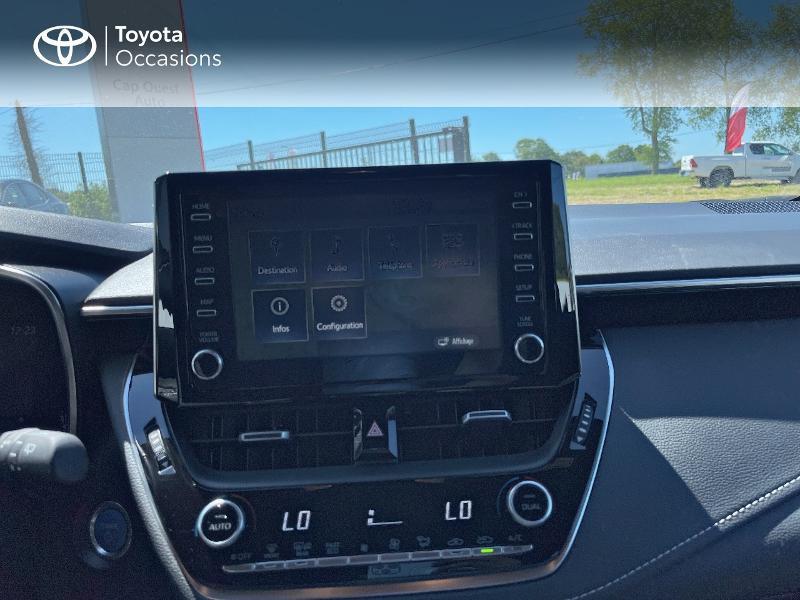 Photo 15 de l'offre de TOYOTA Corolla 122h Dynamic MY20 à 23580€ chez Cap Ouest Auto - Toyota Morlaix