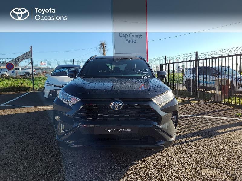 Photo 5 de l'offre de TOYOTA RAV4 Hybride 222ch Black Edition AWD-i MY21 à 44980€ chez Cap Ouest Auto - Toyota Morlaix