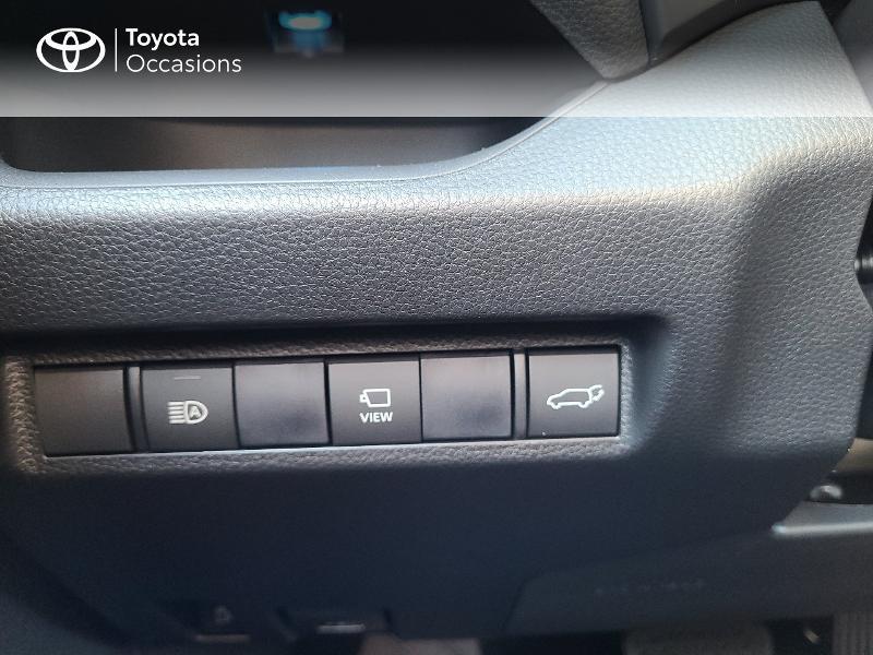 Photo 20 de l'offre de TOYOTA RAV4 Hybride 222ch Black Edition AWD-i MY21 à 44980€ chez Cap Ouest Auto - Toyota Morlaix
