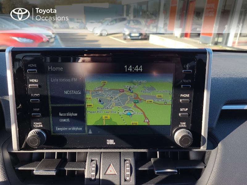 Photo 15 de l'offre de TOYOTA RAV4 Hybride 222ch Black Edition AWD-i MY21 à 44980€ chez Cap Ouest Auto - Toyota Morlaix