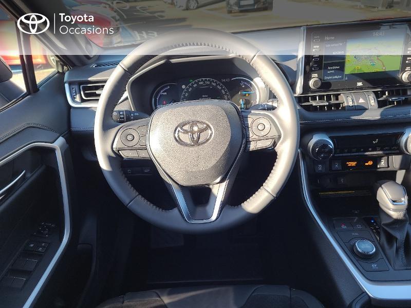 Photo 9 de l'offre de TOYOTA RAV4 Hybride 222ch Black Edition AWD-i MY21 à 44980€ chez Cap Ouest Auto - Toyota Morlaix