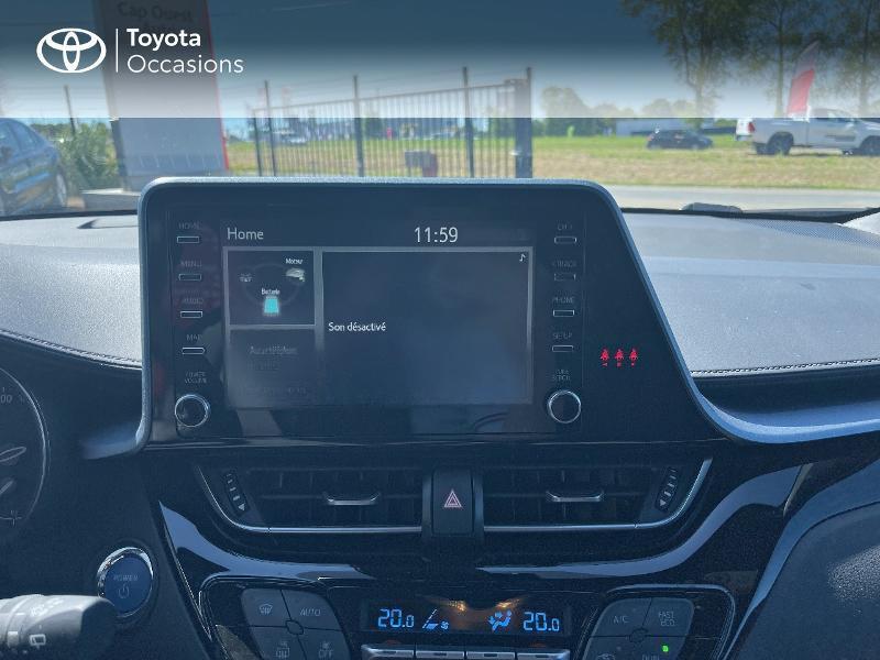 Photo 15 de l'offre de TOYOTA C-HR 122h Edition 2WD E-CVT MY20 à 26980€ chez Cap Ouest Auto - Toyota Morlaix