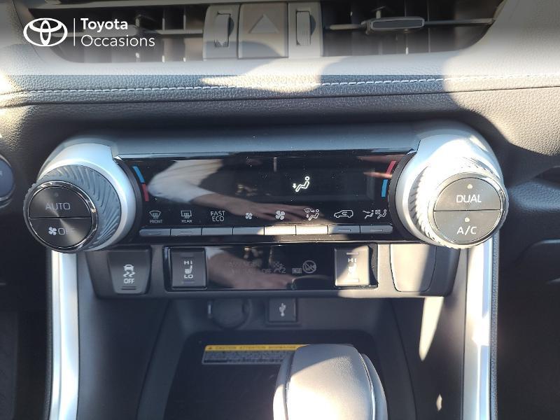Photo 17 de l'offre de TOYOTA RAV4 Hybride 222ch Black Edition AWD-i MY21 à 44980€ chez Cap Ouest Auto - Toyota Morlaix