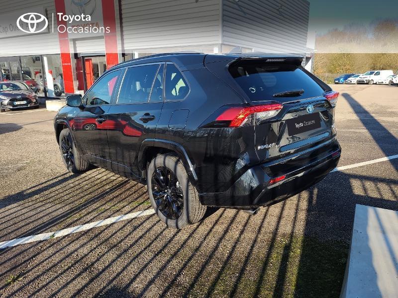 Photo 2 de l'offre de TOYOTA RAV4 Hybride 222ch Black Edition AWD-i MY21 à 44980€ chez Cap Ouest Auto - Toyota Morlaix