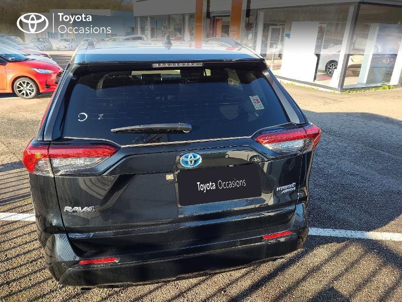 Photo 4 de l'offre de TOYOTA RAV4 Hybride 222ch Black Edition AWD-i MY21 à 44980€ chez Cap Ouest Auto - Toyota Morlaix