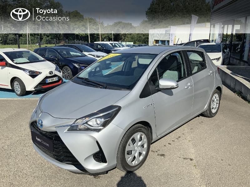 Toyota Yaris 100h France 5p Hybride GRIS ALUMINIUM Occasion à vendre