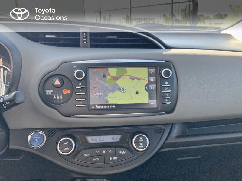 Photo 15 de l'offre de TOYOTA Yaris 100h France 5p à 12980€ chez Cap Ouest Auto - Toyota Morlaix