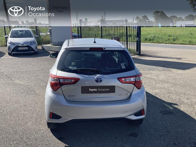 Photo 4 de l'offre de TOYOTA Yaris 100h France 5p à 12980€ chez Cap Ouest Auto - Toyota Morlaix