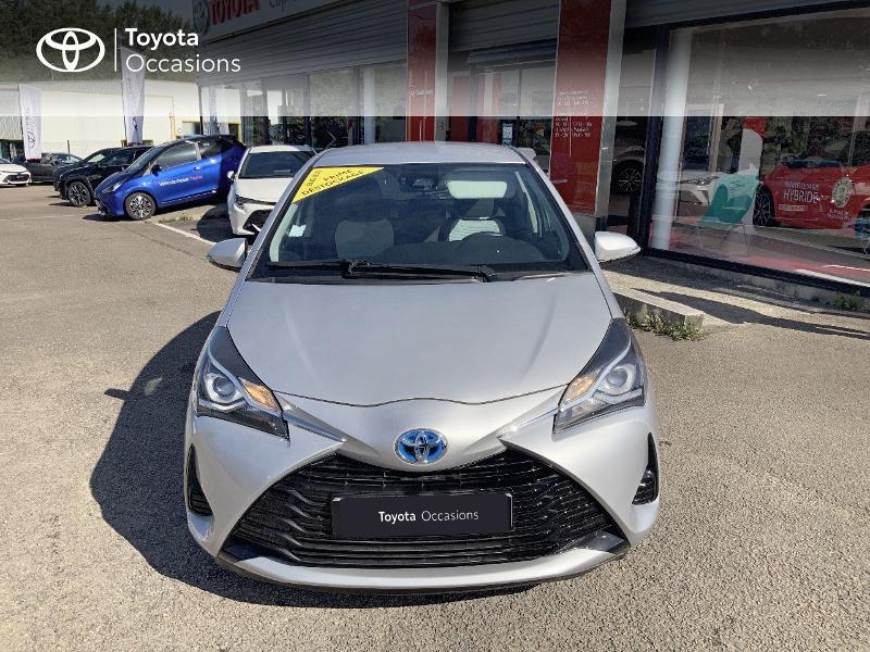 Photo 5 de l'offre de TOYOTA Yaris 100h France 5p à 12980€ chez Cap Ouest Auto - Toyota Morlaix