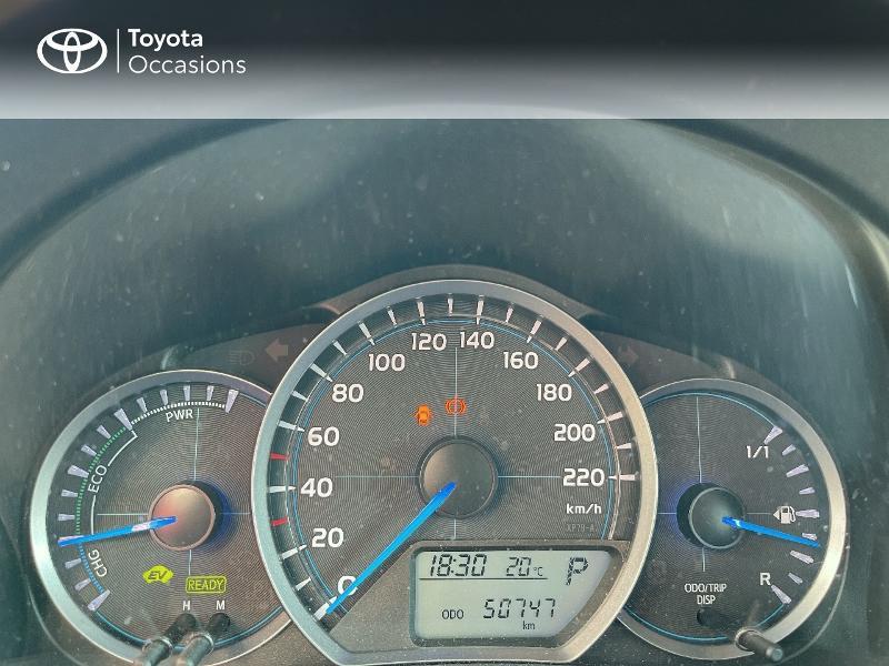 Photo 14 de l'offre de TOYOTA Yaris HSD 100h Dynamic 5p à 12480€ chez Cap Ouest Auto - Toyota Morlaix