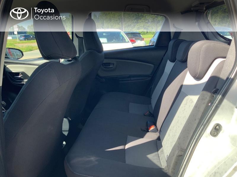 Photo 12 de l'offre de TOYOTA Yaris 100h France 5p à 12980€ chez Cap Ouest Auto - Toyota Morlaix