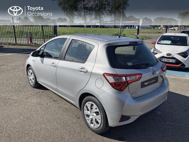 Photo 2 de l'offre de TOYOTA Yaris 100h France 5p à 12980€ chez Cap Ouest Auto - Toyota Morlaix