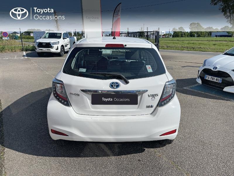 Photo 4 de l'offre de TOYOTA Yaris HSD 100h Dynamic 5p à 12480€ chez Cap Ouest Auto - Toyota Morlaix