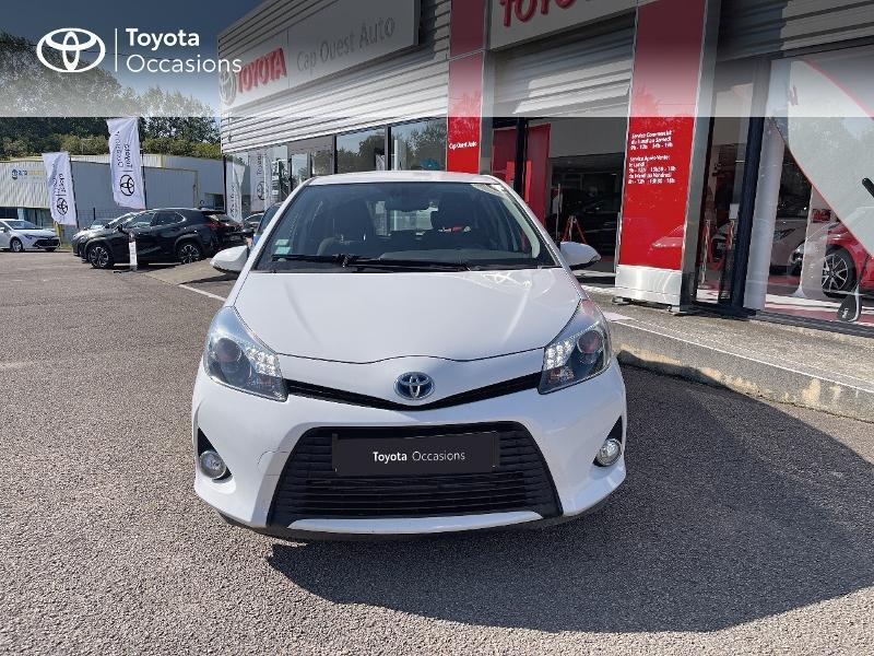 Photo 5 de l'offre de TOYOTA Yaris HSD 100h Dynamic 5p à 12480€ chez Cap Ouest Auto - Toyota Morlaix