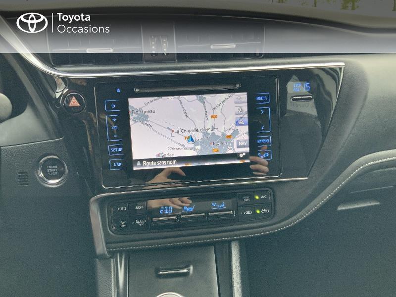 Photo 15 de l'offre de TOYOTA Auris 1.2T 116 Design à 10980€ chez Cap Ouest Auto - Toyota Morlaix
