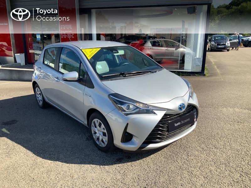Photo 19 de l'offre de TOYOTA Yaris 100h France 5p à 12980€ chez Cap Ouest Auto - Toyota Morlaix