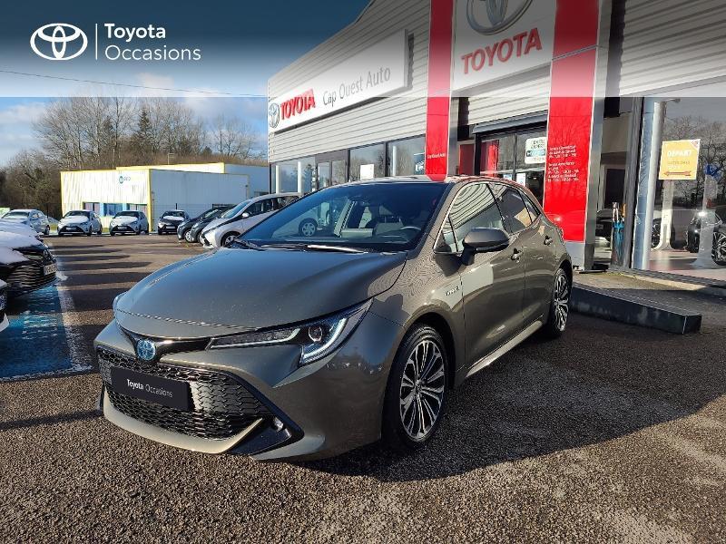 Photo 1 de l'offre de TOYOTA Corolla 122h Design MY20 à 22980€ chez Cap Ouest Auto - Toyota Morlaix