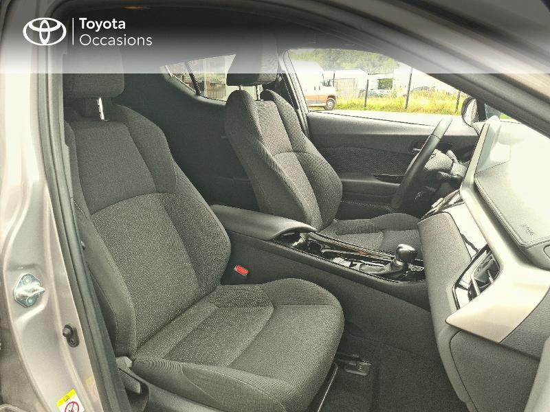 Photo 6 de l'offre de TOYOTA C-HR 122h Design 2WD E-CVT RC18 à 21480€ chez Cap Ouest Auto - Toyota Morlaix