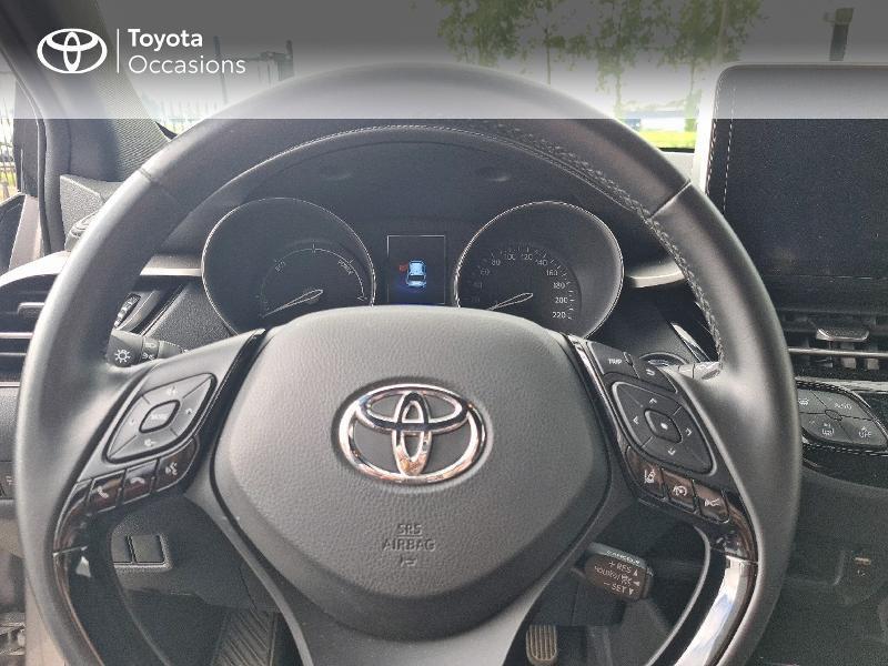 Photo 13 de l'offre de TOYOTA C-HR 122h Design 2WD E-CVT RC18 à 21480€ chez Cap Ouest Auto - Toyota Morlaix