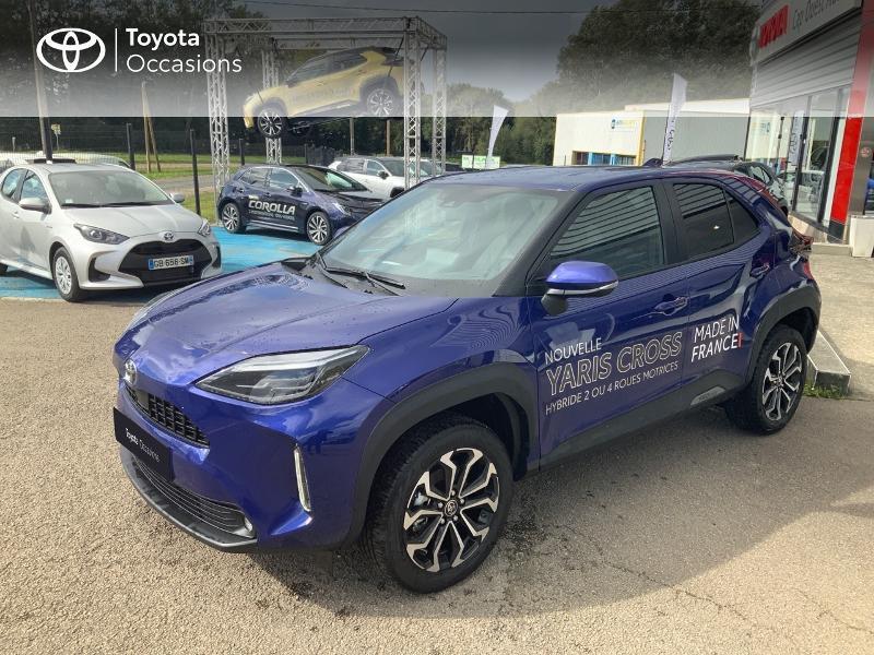 Toyota Yaris Cross 116h Design Hybride Bleu Kyanite Occasion à vendre