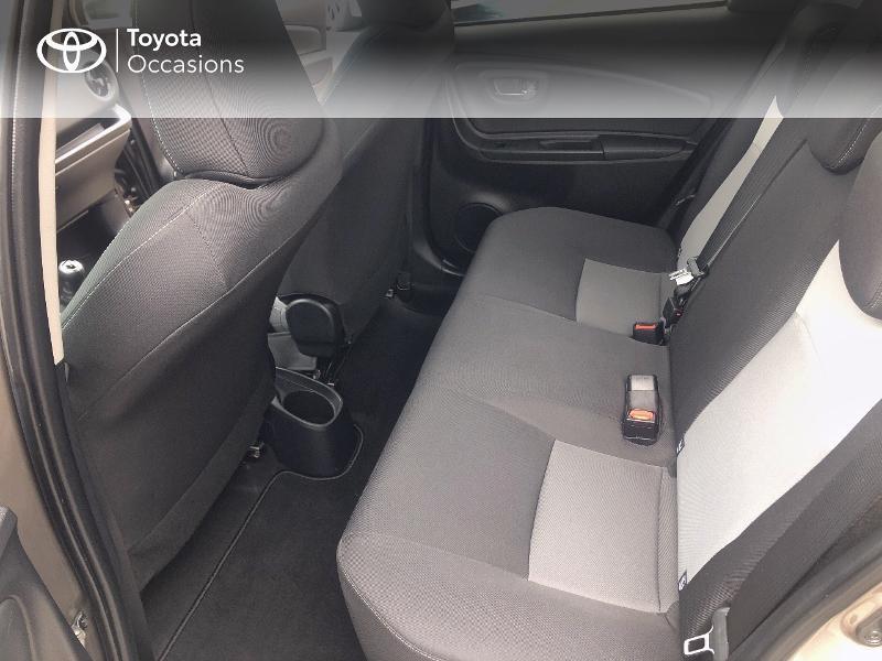 Photo 12 de l'offre de TOYOTA Yaris 70 VVT-i Design 5p RC18 à 11980€ chez Cap Ouest Auto - Toyota Morlaix