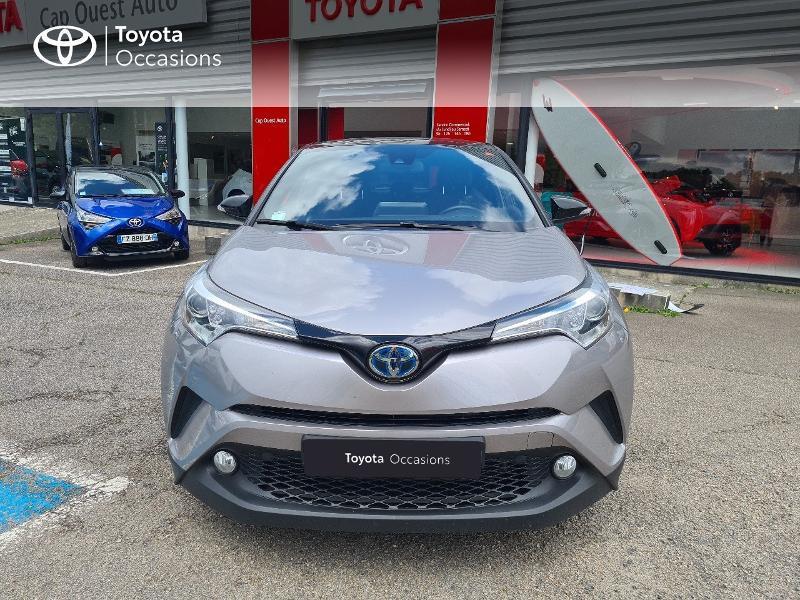 Photo 5 de l'offre de TOYOTA C-HR 122h Design 2WD E-CVT RC18 à 21480€ chez Cap Ouest Auto - Toyota Morlaix