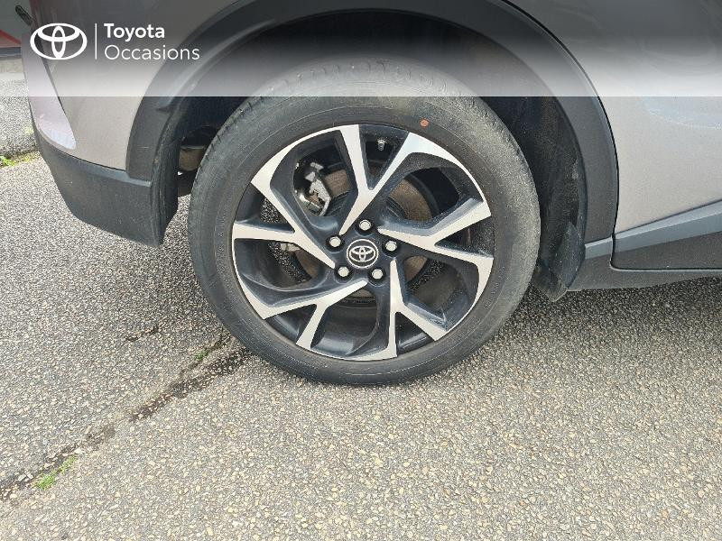 Photo 16 de l'offre de TOYOTA C-HR 122h Design 2WD E-CVT RC18 à 21480€ chez Cap Ouest Auto - Toyota Morlaix