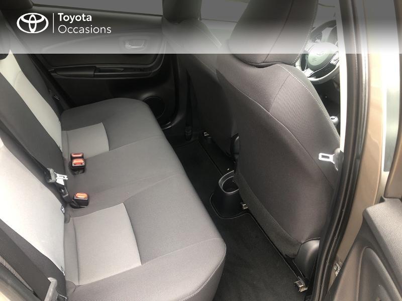 Photo 7 de l'offre de TOYOTA Yaris 70 VVT-i Design 5p RC18 à 11980€ chez Cap Ouest Auto - Toyota Morlaix