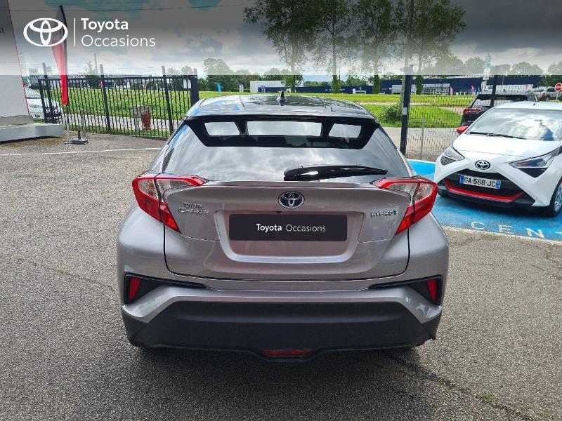 Photo 4 de l'offre de TOYOTA C-HR 122h Design 2WD E-CVT RC18 à 21480€ chez Cap Ouest Auto - Toyota Morlaix