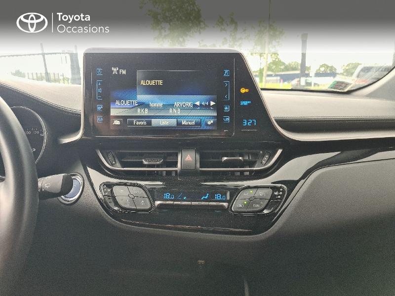 Photo 15 de l'offre de TOYOTA C-HR 122h Design 2WD E-CVT RC18 à 21480€ chez Cap Ouest Auto - Toyota Morlaix