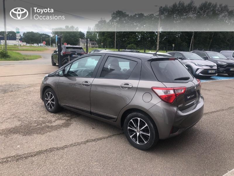 Photo 2 de l'offre de TOYOTA Yaris 70 VVT-i Design 5p RC18 à 11980€ chez Cap Ouest Auto - Toyota Morlaix
