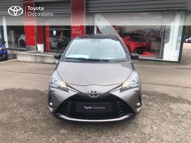Photo 5 de l'offre de TOYOTA Yaris 70 VVT-i Design 5p RC18 à 11980€ chez Cap Ouest Auto - Toyota Morlaix