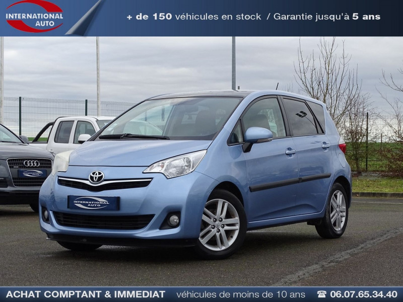 Toyota VERSO-S 100 VVT-I LOUNGE Essence BLEU C Occasion à vendre