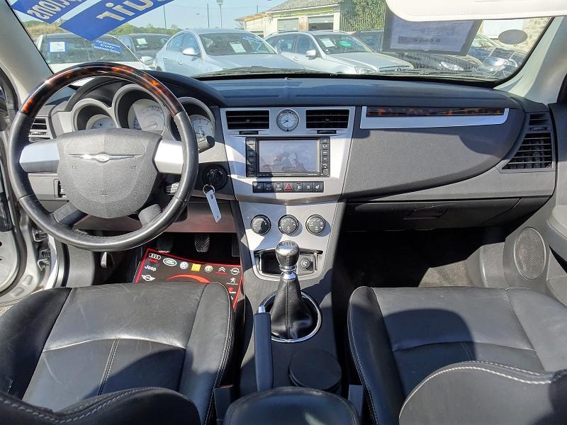 Photo 6 de l'offre de CHRYSLER SEBRING CABRIOLET 2.0 CRD LIMITED TOIT RIGIDE à 8690€ chez International Auto Auneau