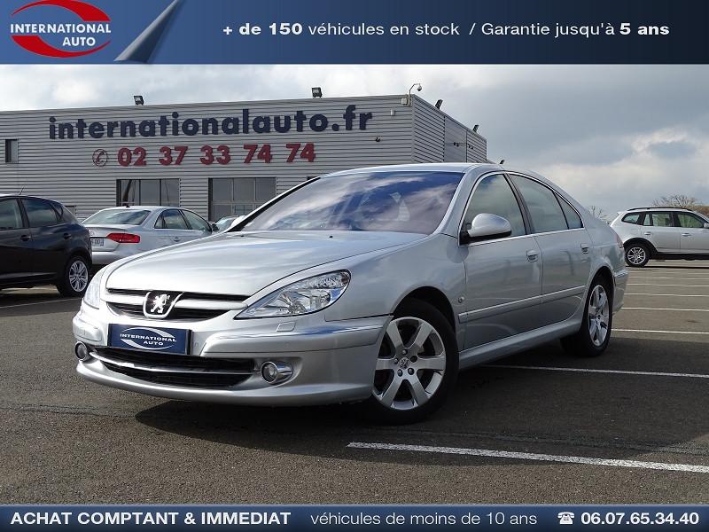 Photo 1 de l'offre de PEUGEOT 607 2.0 HDI136 FELINE FAP à 6790€ chez International Auto Auneau