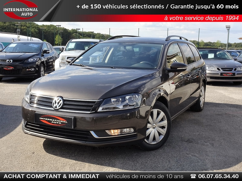 Volkswagen PASSAT SW 1.6 TDI 105CH BLUEMOTION TECHNOLOGY FAP BLUEMOTION BUSINESS Diesel MARRON Occasion à vendre