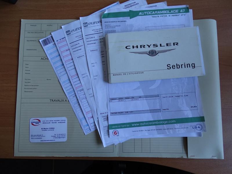 Photo 17 de l'offre de CHRYSLER SEBRING 2.0 CRD TOURING à 6790€ chez International Auto Auneau