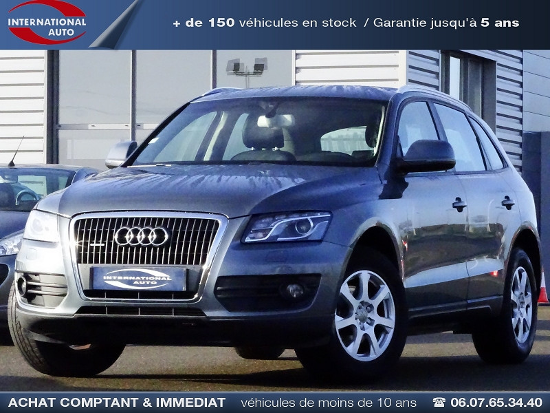 Photo 1 de l'offre de AUDI Q5 2.0 TDI 143CH FAP START/STOP BUSINESS LINE QUATTRO à 14490€ chez International Auto Auneau