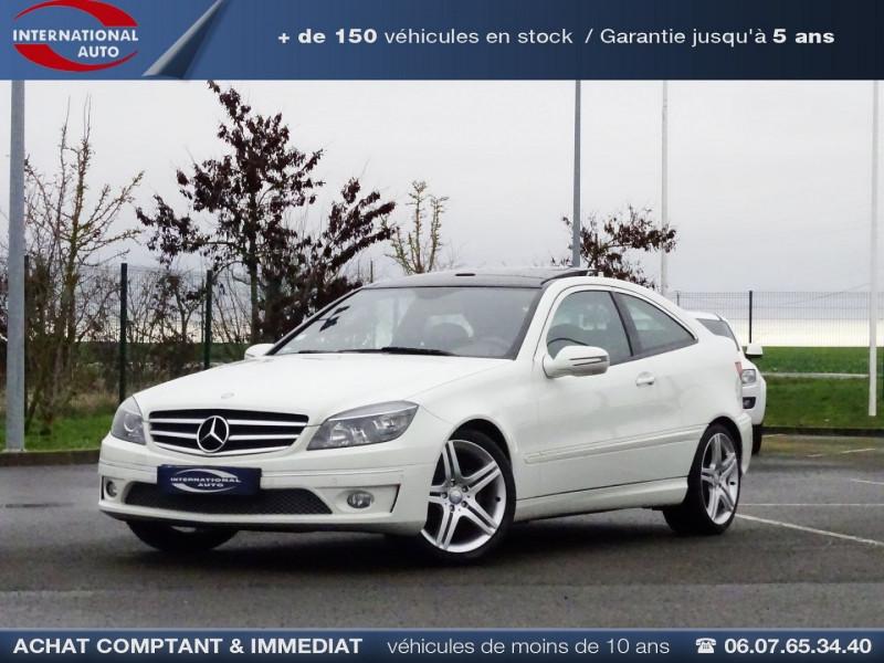 Mercedes-Benz CLASSE CLC (CL203) 180K Essence BLANC Occasion à vendre