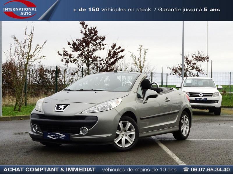Peugeot 207 CC 1.6 VTI 16V SPORT Essence GRIS MEDIUM  Occasion à vendre