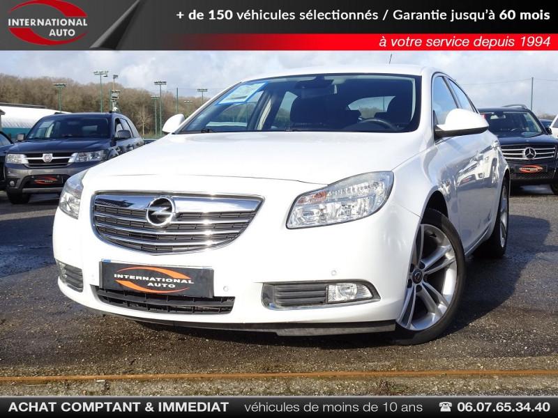 Opel INSIGNIA 2.0 CDTI160 FAP COSMO 5P Diesel BLANC Occasion à vendre