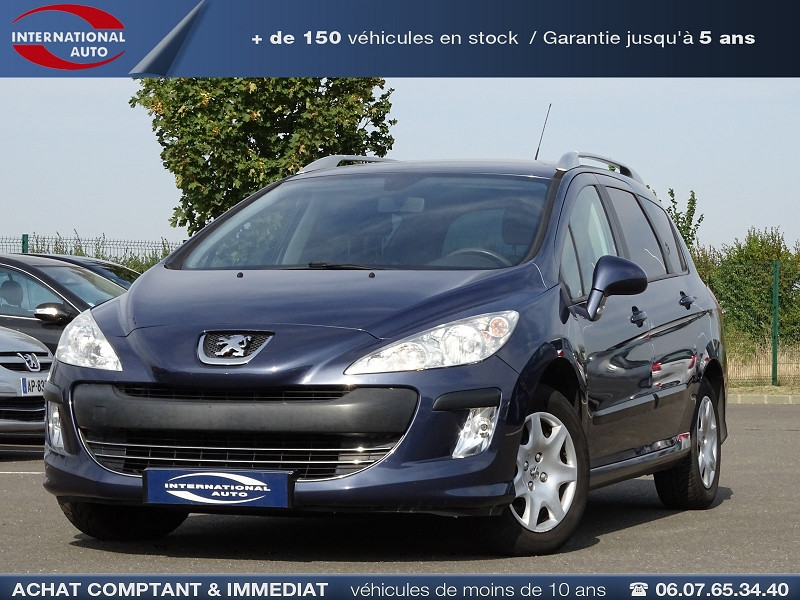 Photo 1 de l'offre de PEUGEOT 308 SW 1.6 VTI 16V CONFORT à 5790€ chez International Auto Auneau