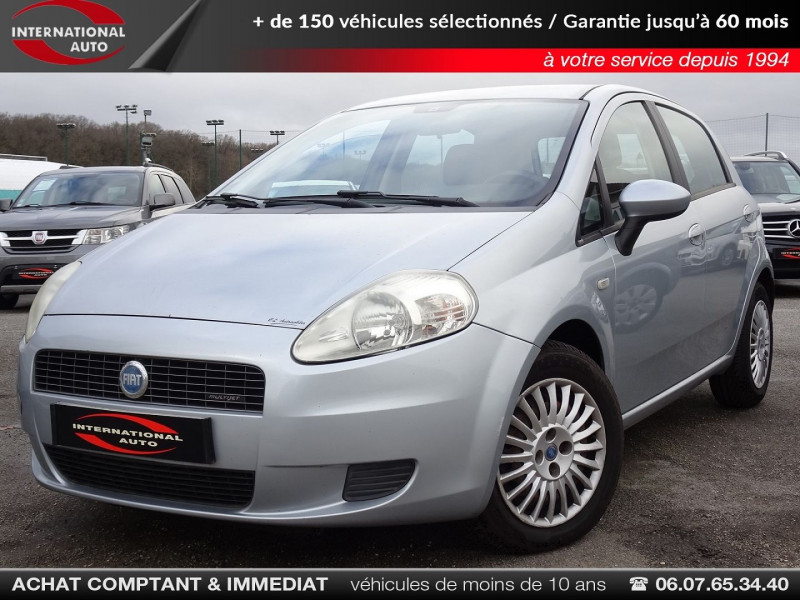 Photo 1 de l'offre de FIAT GRANDE PUNTO 1.3 MULTIJET 16V 90CH DYNAMIC 5P à 4990€ chez International Auto Auneau
