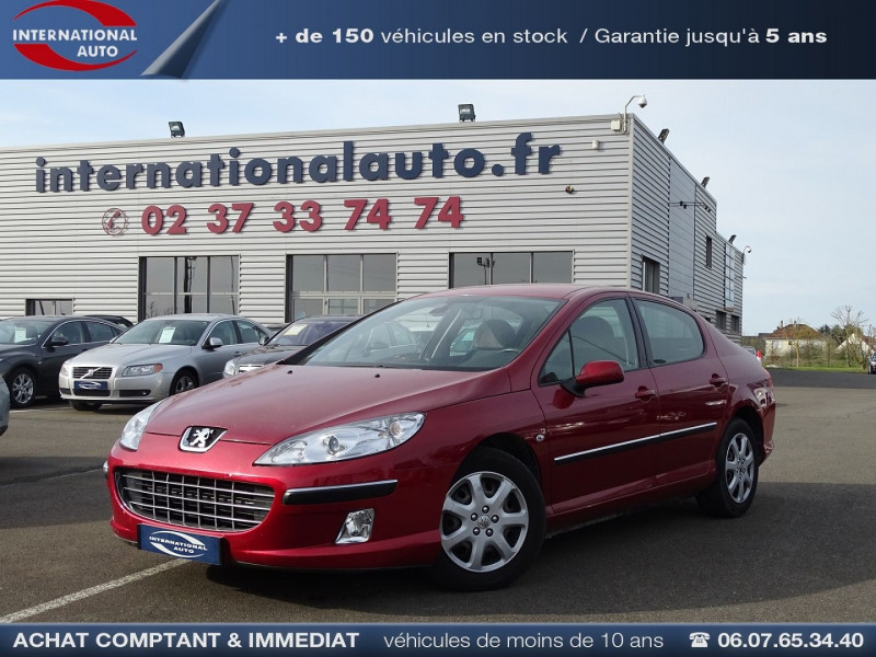 Peugeot 407 1.8 16V 125CH EXECUTIVE Essence ROUGE Occasion à vendre