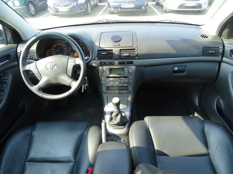 Photo 8 de l'offre de TOYOTA AVENSIS BREAK 126 D-4D TECHNO PACK à 6890€ chez International Auto Auneau
